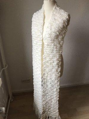 Codello Woolen Scarf natural white