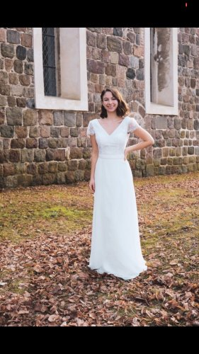 Luxuar Fashion Bridal Wedding Dress white