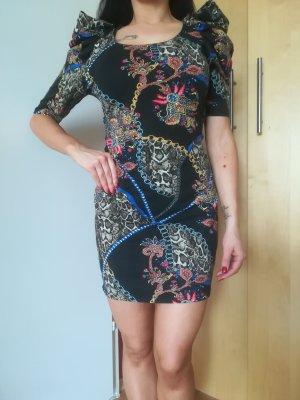 NEU/UNGETRAGEN: Extravagantes Kleid, 100% Baumwolle, River Island, Gr. 38