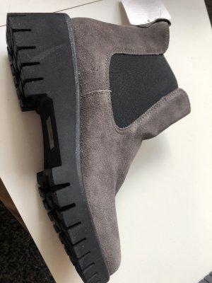 Tamaris Botas deslizantes gris antracita