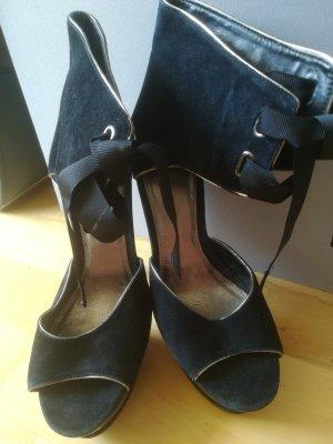 Carvela High Heels black-silver-colored