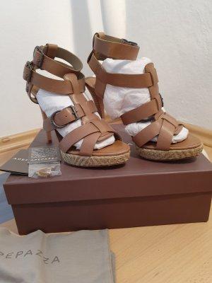 NEU!! ungetragene High Heels, taupe,von Apepazza, Gr.39 mit Karton