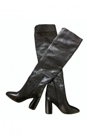 unknown Heel Boots black leather