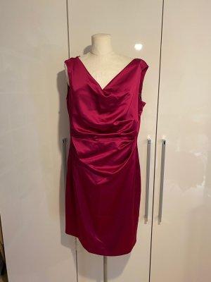 NEU Vera Mont Cocktailkleid Gr.44 pink rosa Kleid Midikleid