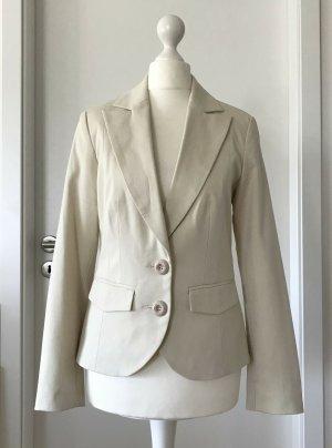 NEU Vero Moda Blazer XS 34 Beige Anzug Business Jacke Sakko Creme Nude Elegant
