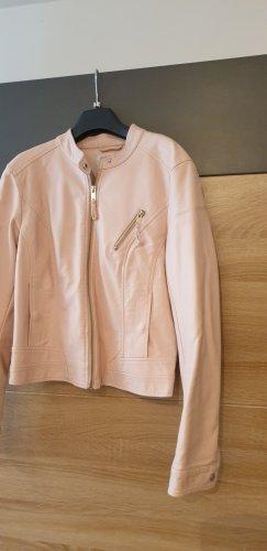 Vero Moda Kurtka z imitacji skóry w kolorze różowego złota