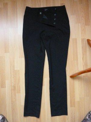 Vero Moda High Waist Trousers black viscose