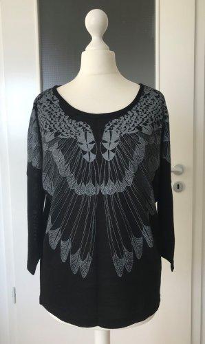 NEU Vero Moda Oversize Bluse XS 34 Schwarz Tunika Top Oberteil Shirt Festival