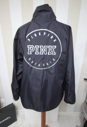 Pink Victoria's Secret Raincoat blue-silver-colored