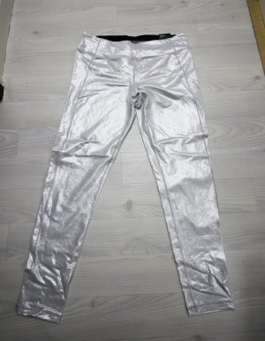 NEU Victoria´s Secret Knock Out Leggings Hose metallic schimmernd L