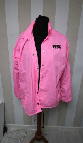 Victoria's Secret Chaqueta para exteriores negro-rosa