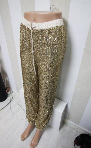 Victoria's Secret Spodnie sportowe złoto