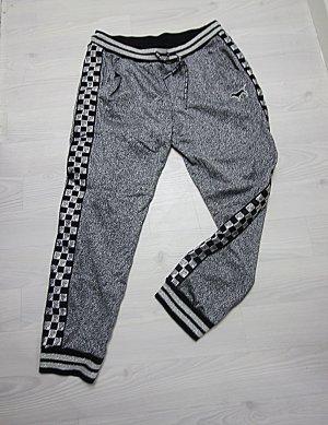 Victoria's Secret Sportbroek zwart-zilver