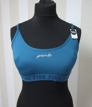 Pink Victoria's Secret Top sportowy petrol