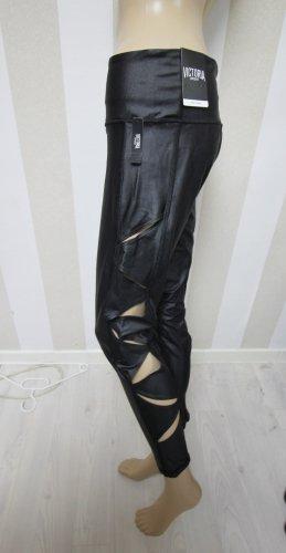 NEU Victoria Sport by Victoria´s Secret Leggings Hose Cut Outs gr L