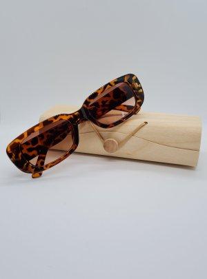 Neu Vintage Leopard Akryl Sonnenbrillen