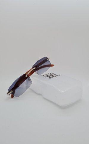 Neu Vintage Retro mit Holzbügeln Sonnenbrille