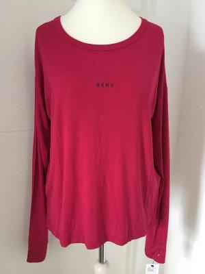 NEU - Weiches Longsleeve (Homewear/Loungewear) von DKNY / Gr. L, lockerer Schnitt