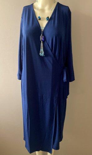 Lets Dress Wikkeljurk blauw-donkerblauw