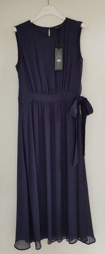 NEU! Wickelkleid mit Gürtel, Luisa Cerano, Gr.38, dunkelblau, Crepon