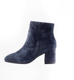 NEU!  Wild-Leder Ankle Boot - Dark Blue