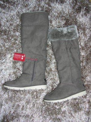Neu! Winter Stiefel Overknees von s.Oliver Vollständig mit Fell