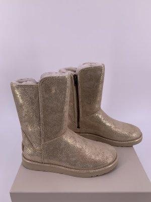 UGG Futrzane buty złoto