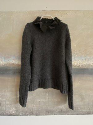COS Wool Sweater dark grey