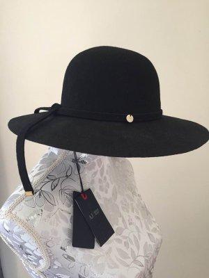 Armani Jeans Felt Hat black wool