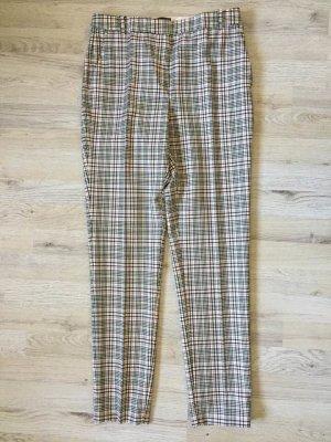 Massimo Dutti Woolen Trousers multicolored wool