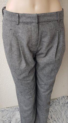 Passport Wełniane spodnie szary