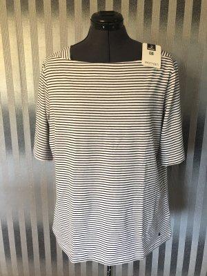 Woman by Tchibo Stripe Shirt black-white