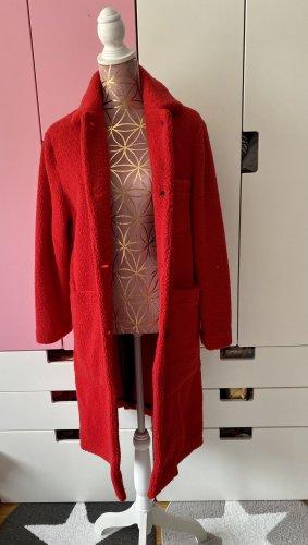 NEU Woolrich Wollmantel rot Größe XS