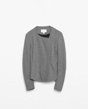 ❤︎ NEU & WUNDERSCHÖN! ZARA JERSEY JACKE ❤︎ Blazer Bluse Cardigan Hose Jacke Mantel Pullover Shirt Top Kleid