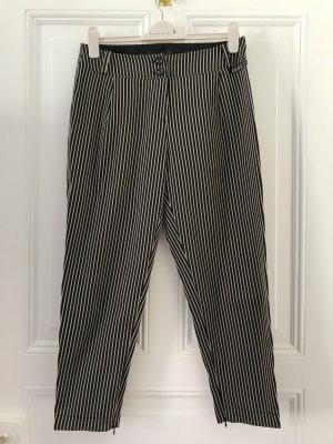 Airfield Jersey Pants black-beige polyester