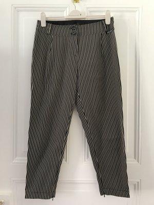 Airfield Pantalon en jersey noir-beige polyester