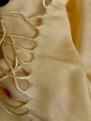 !!! NEU !!! Wunderschöner, großer Pashmina finished Schal in einem satten Gelb-Ton gegen trübe Herbst-und Wintertage ;)