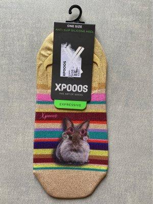 NEU XPOOOS Socken Bunt Hase One Size