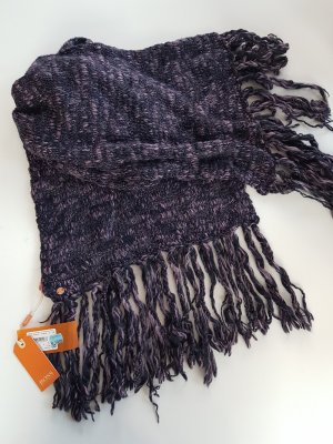 Boss Orange Fringed Scarf lilac-dark violet