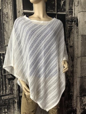 you&me Knitted Poncho natural white
