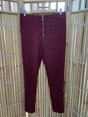 Zara Leggings rosso mattone-nero