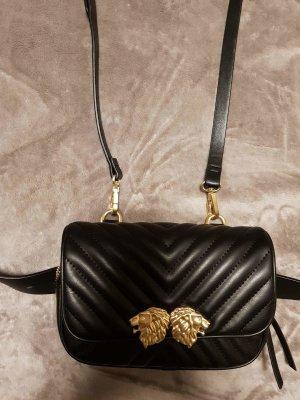 *NEU* Zara Tasche schwarz gold