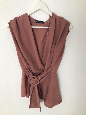 NEU Zara Top / Bluse rosa M