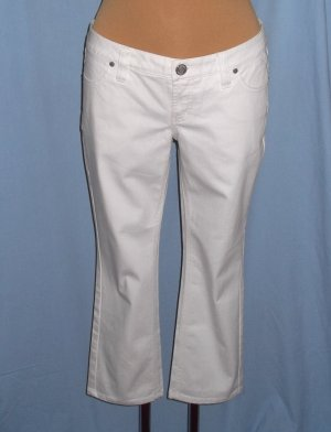 Zero 7/8 Length Jeans white cotton