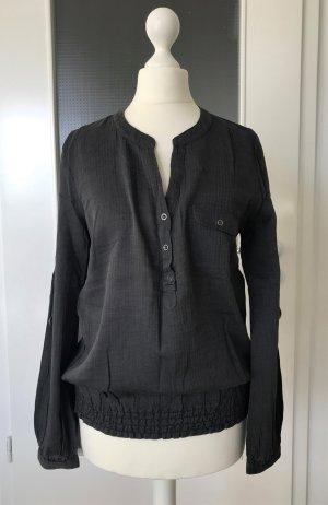 NEU Zero Bluse XS 34 Tunika Shirt Anthrazit Grau Longtop Oberteil Sweatshirt