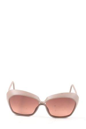 neubau eyewear Butterfly Brille braun Casual-Look