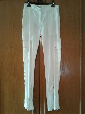 Biscote Pantalon cargo blanc