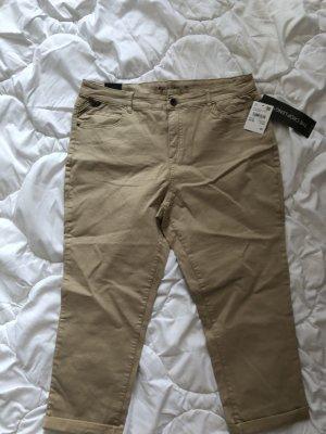 C&A Spodnie 7/8 jasnobeżowy