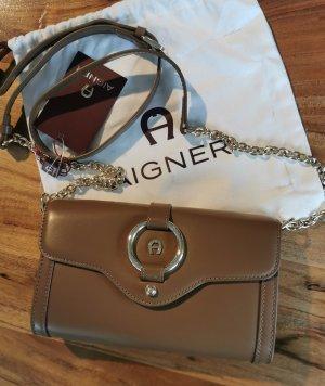 Aigner Shoulder Bag bronze-colored