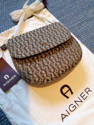 Aigner Crossbody bag grey brown-light brown